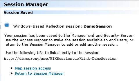 Create Sessions using the Administrative WebStation